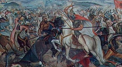 4th October 1448,  in the battle of Drini, Skanderbeg defeated the Venetians