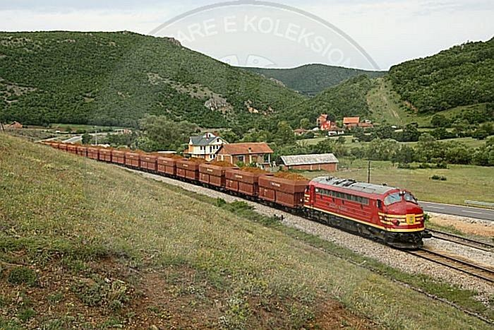 14th October 1985 The inauguration of the railway Fier-Vlore