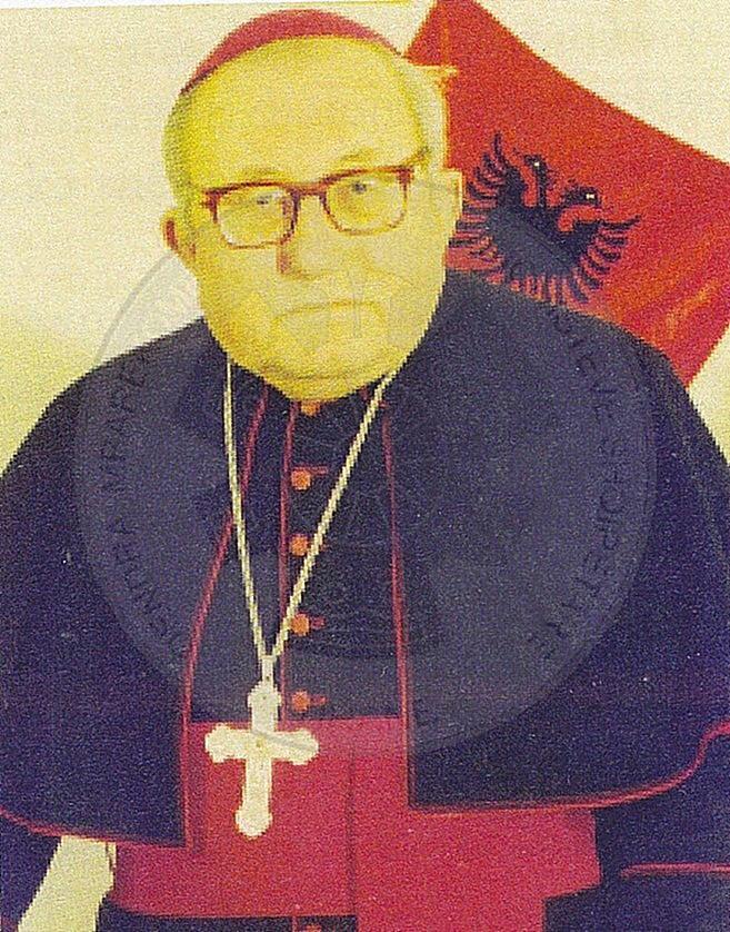 """26th, October 1997, Monsignor Frano Ilia, """"Honorary Citizen of Shkodra"""""""