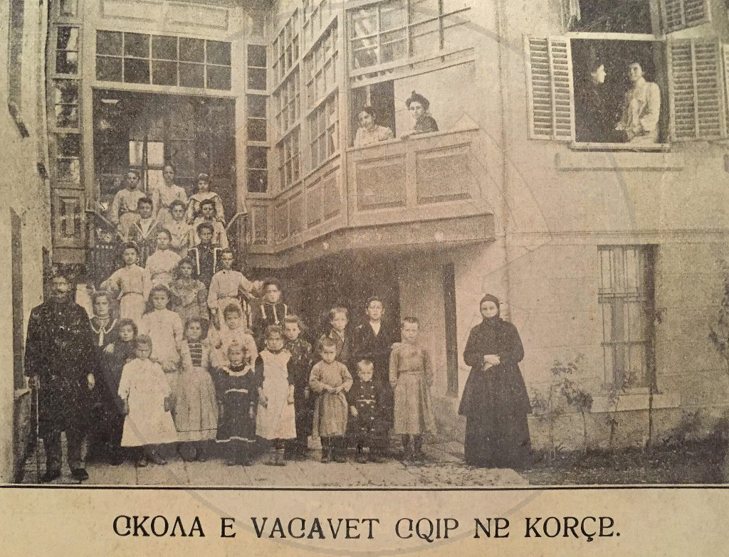23rd, October 1891, was established the Albanian school of girls in Korca