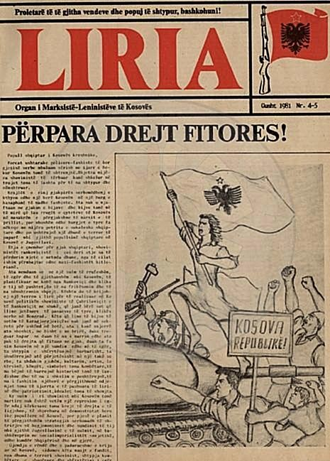 "9 October, 1924, was published the first number of ""Liria' newspaper"