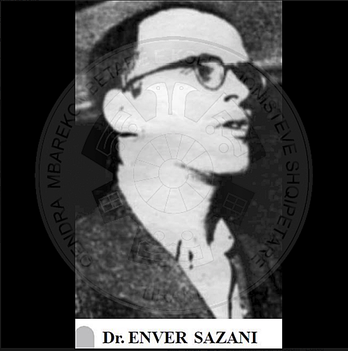 10th, October 1947, was executed Enver Sazani, doctor and deputy