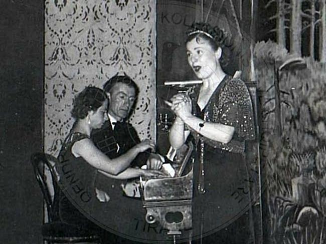 26th, October 1936, recital concert of Tefta Tashko in Korca
