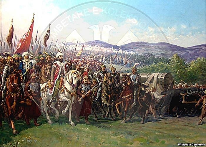 10 November 1444, after the battle of Varna, Sultan finds a way to attach the Albanians