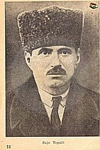 """16 November, 1905, Bajo Topulli established the """"Committee for the Freedom of Albania"""""""