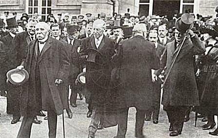 16 Nëntor 1919, letër e përfaqësuesve të Vlorës për Konferencën e Paqes në Paris