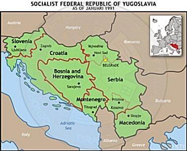1st, October 1918, the establishment of Yugoslavia