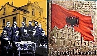 14 Nëntor 1908, Kongresi i Manastirit