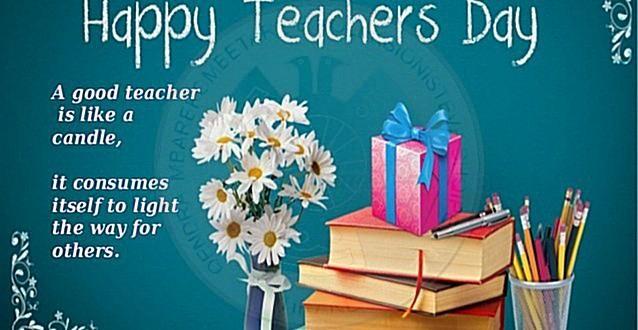 5 Nëntor,  Dita Ndërkombëtare e Mësuesit