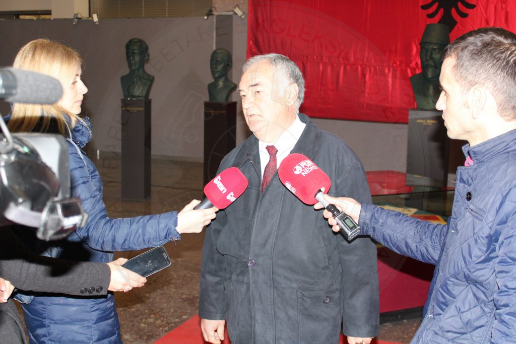 The exhibition of QMKSH in Ora News TV