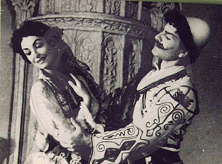 2 Dhjetor 1973, shfaqt baleti kombëtar Halili dhe Hajrija