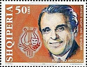 25 December 1907, was born Kristaq Antoniou, artist and famous musician