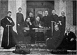 "4 January 1899, Preng Doçi established the society ""Bashkimi"" in Shkodra"