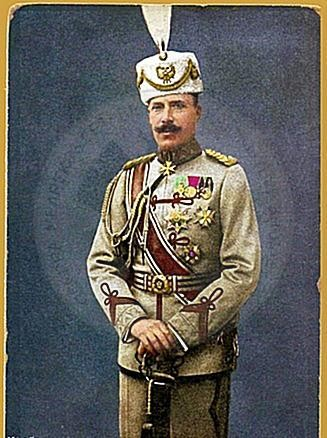 3 December 1913, was formalized the candidacy of Prince Wilhelm