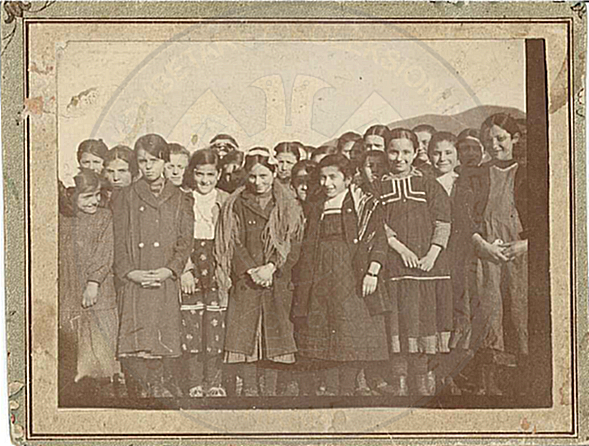 The School of Girls 1909-1910