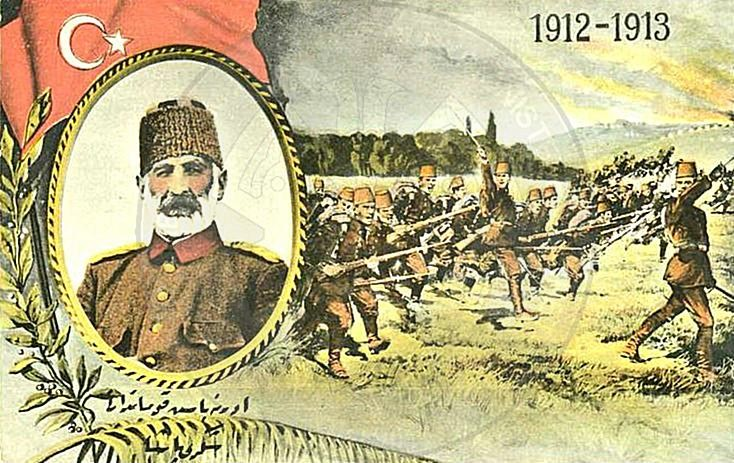3 February 1913, began the military operations against Turkey by the Balkan states