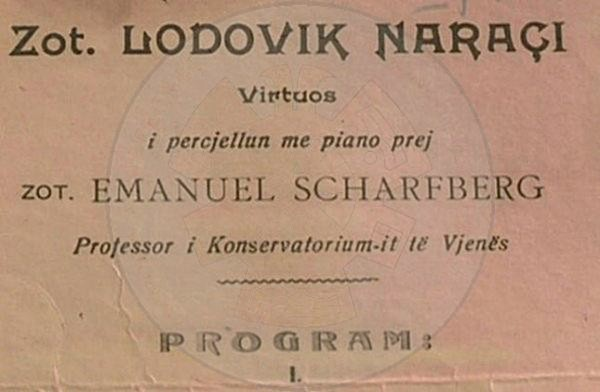 February 2nd, 1999, died the virtuoso violinist Ludovik Naraçi