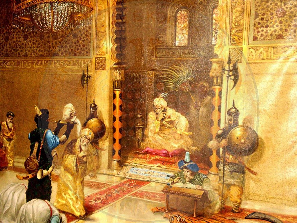 22 February 1822, was taken to Istanbul the head of Ali Pasha