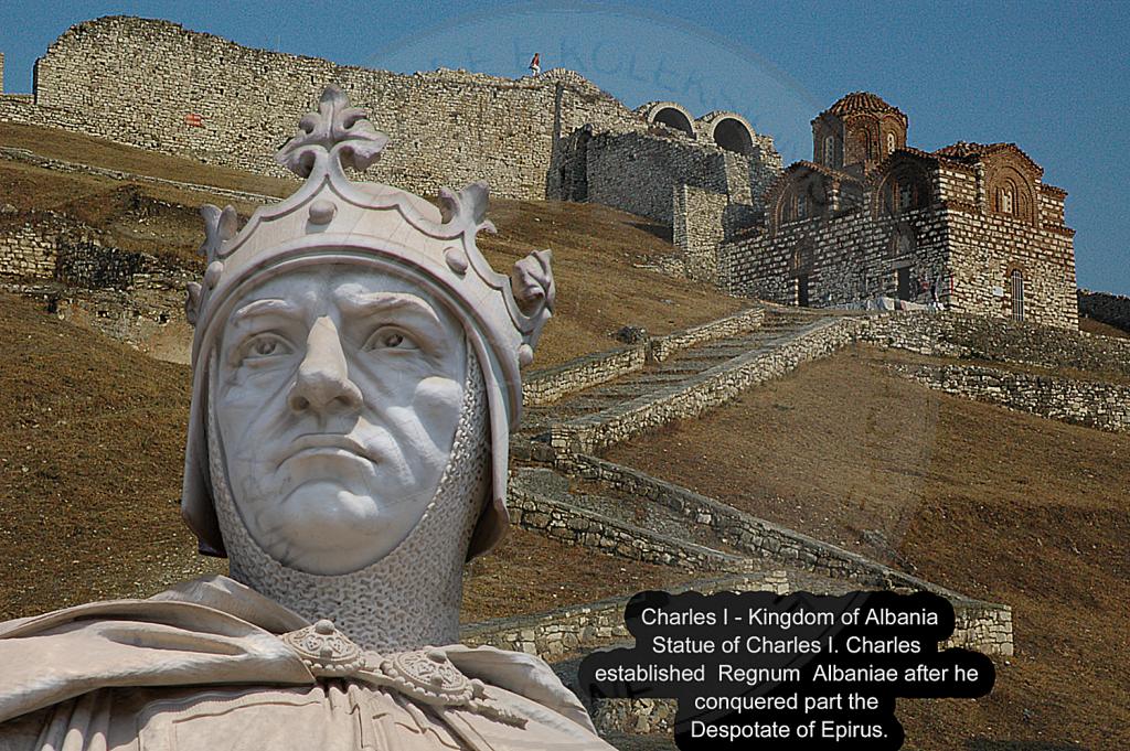 21 Shkurt 1272, mbreti Karli I Anzhuin shpalli Mbretërinë  e Arbrit dhe vetë u shpall mbret i saj