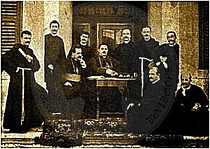 24 February 1914, the amateur actors of Shkodra preformed the drama of Anton Xanoni