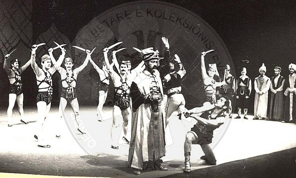 February 6th, 1932 was born the ballet dancer Petrit Osman Vorbesi