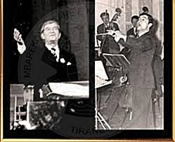 22 February 1977, classic concert of the Albanian Radio Television orchestra in the opera palace