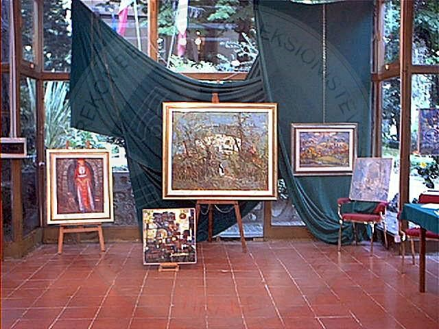 "4 March 1993, in Tirana was opened the first private gallery of fine arts ""TE&Gi"""