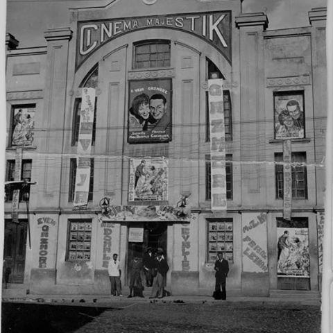 """25 December 1927, """"Majestic"""" cinema in Korça the best in Balkans"""