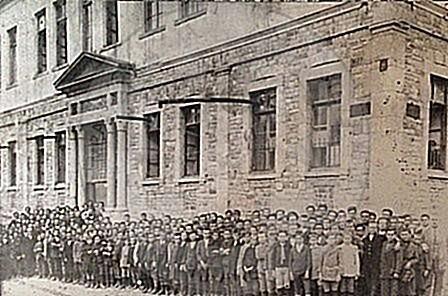 February 21st, 1924, big strikes of teachers throughout Albania