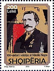 February 7th 1843, was born the patriot Nikolla Naço