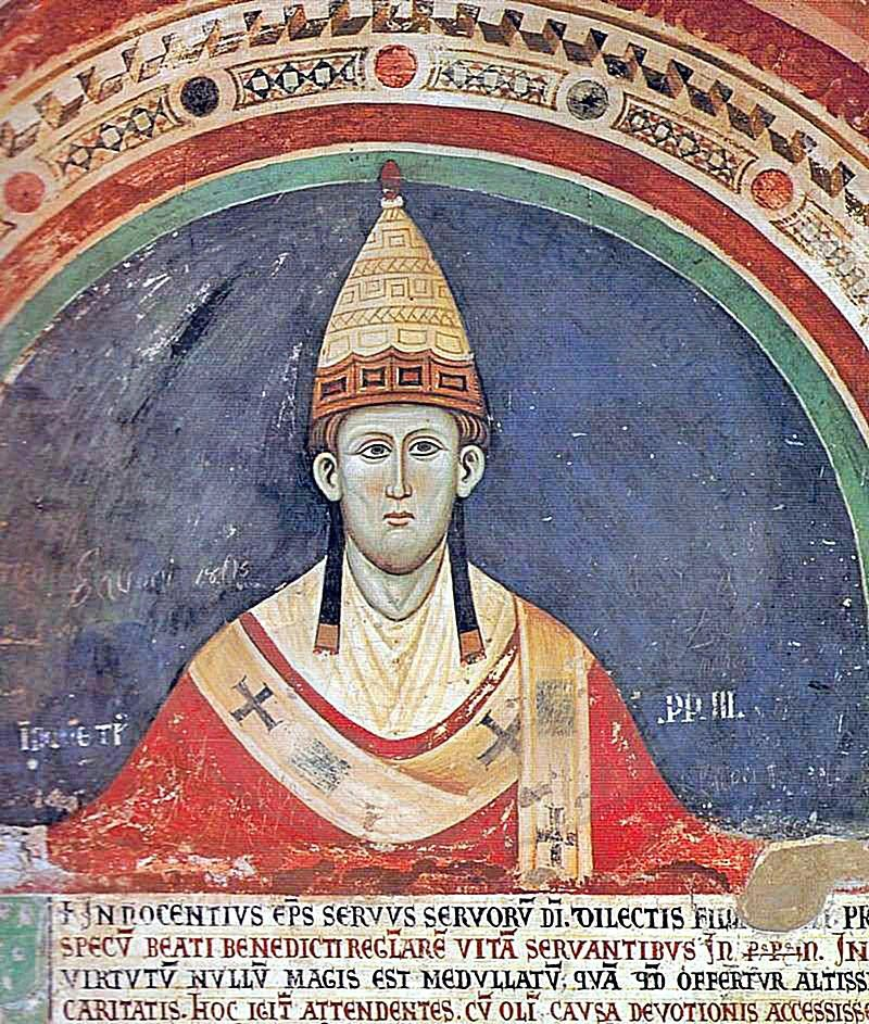 28 February 1208, Pope Innocent III wrote to Prince Demetrius of Arberia