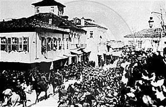 6 March 1913, the Greek army invaded Ioannina