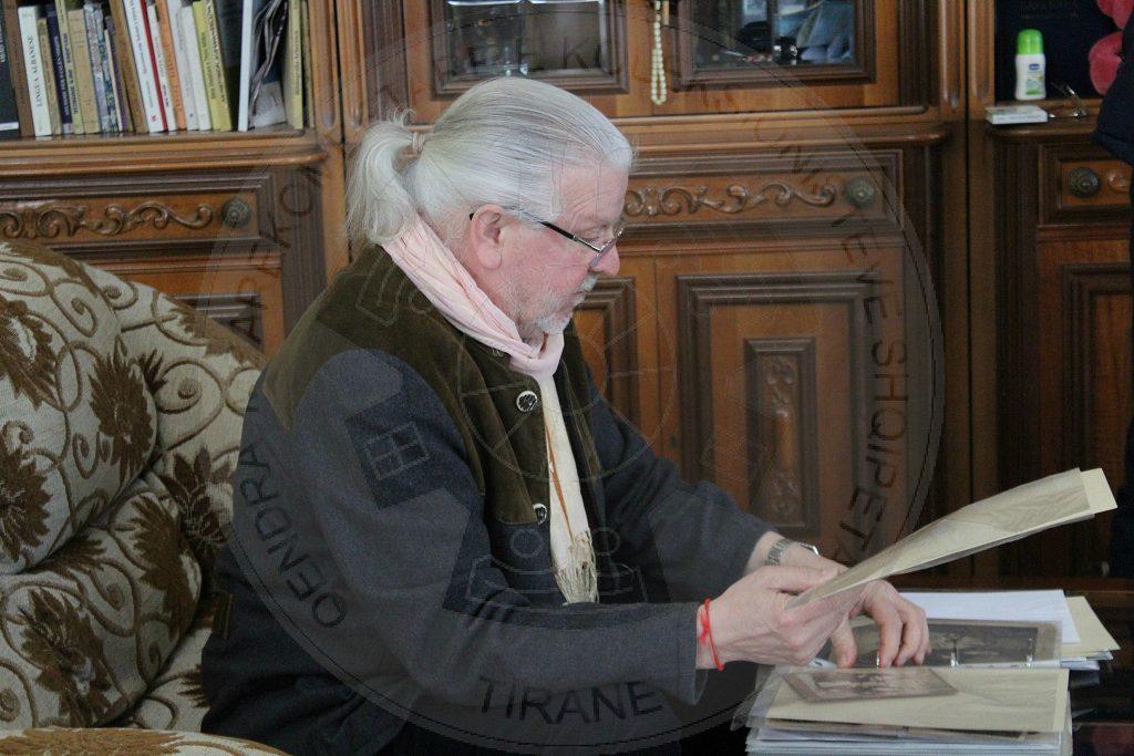 Profesori  gjerman i fotografisë  Rudolf Schafer në QMKSH
