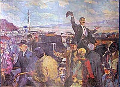 5 April 1945, was opened in Tirana the exhibition of visual arts
