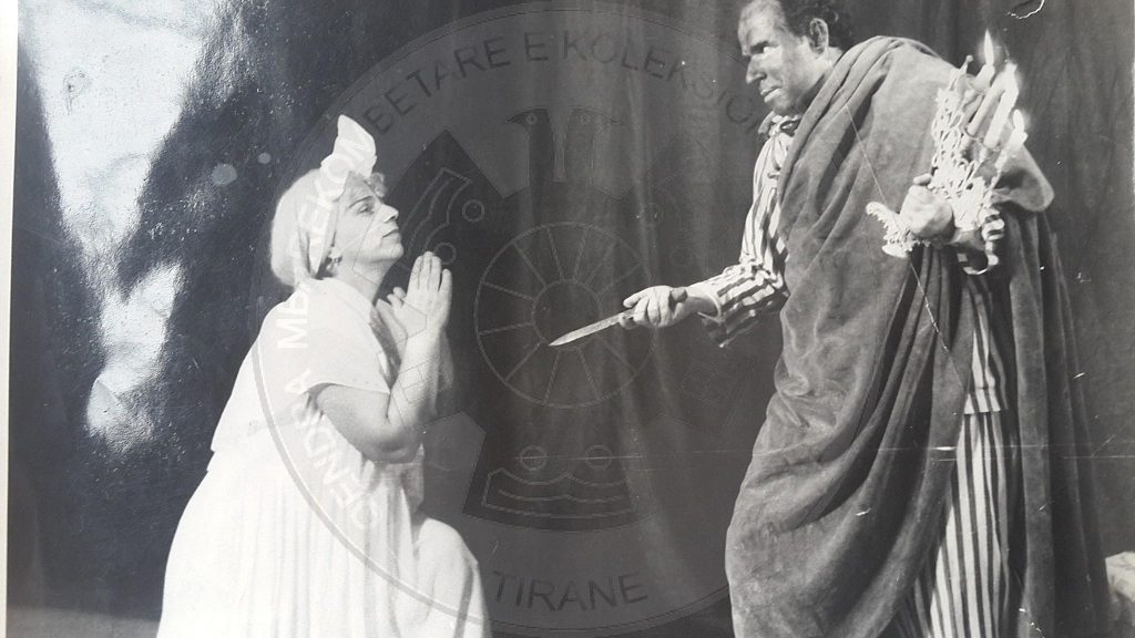"21 March 1953, the premiere of ""Othello"" in the Popular Theatre"