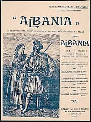 """25 Mars 1897, Faik Konica botoi  revistën """"Albania"""""""