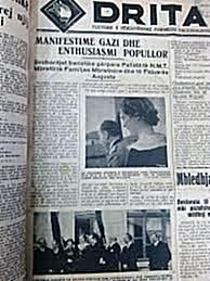 "27 March 1920,was published in Gjirokastra the first number of ""Drita"" newspaper"