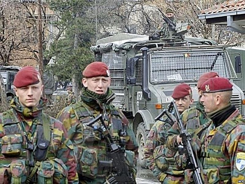 "30 March 1997, the Parliament approved the Law ""On admission to Albania, of a multinational military force"""