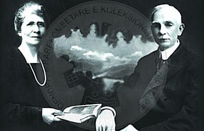 26 March 1908, arrived in Korca the Protestant charitable missionaries Pineas and Violet Kennedy