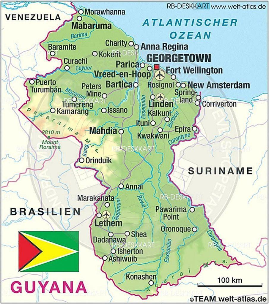 1 Prill 1985, u vendosën marrëdhëniet diplomatike ndërmjet Shqipërisë dhe Guajanës