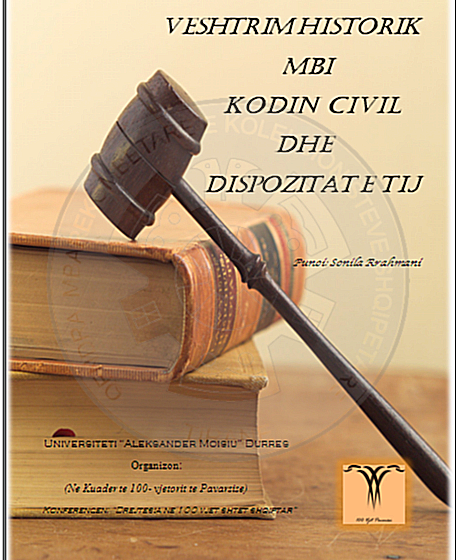29 March 1996, was approved Code of the Civil Procedure of the Republic of Albania