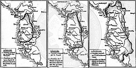 20 March 1913, the Albanian nation was informed about the boundary line set at the Conference of London