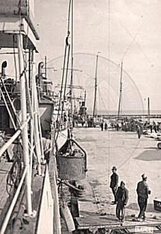 12 March 1938 began the work on the modernization of the scaffold of the port of Durrës