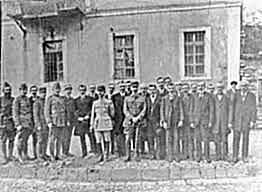 2 April 1914, Themistokli Gërmenji and Colonel Snellen oppressed the Greek coup in Korca