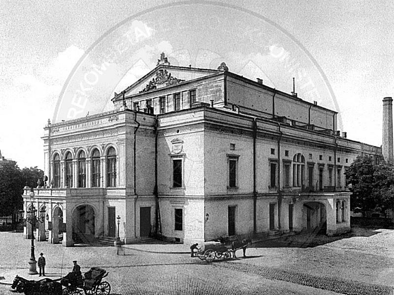 "March 16th, 1902 was shown in ""Bulevard"" theater of Bucharest the drama ""Besa"" of Sami Frashëri"