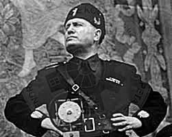15 April 1939,  Benito Mussolini hosted in Rome the Albanian envoy to submit the crown