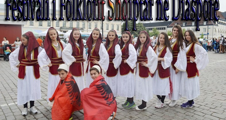 "13 April 1997, was presented for the first time the music and Albanian folk  in the festival ""World in Sweden"""