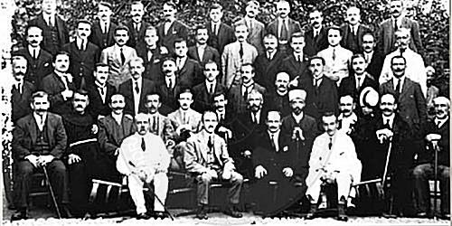 24 April 1921, the National Council holds its first session