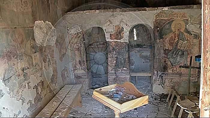 """10 Prill 1554, mbishkrimi i Onufrit në kishën e Shpatit: """"kur të ngrehesh duart e tu ke Perëndia,  më përmend dhe mua mëkatar Onufrin"""""""