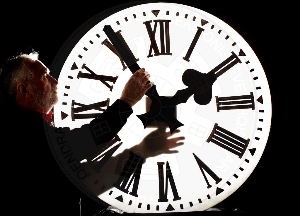 2 May, 1972, was changed for the first time the clock in our country